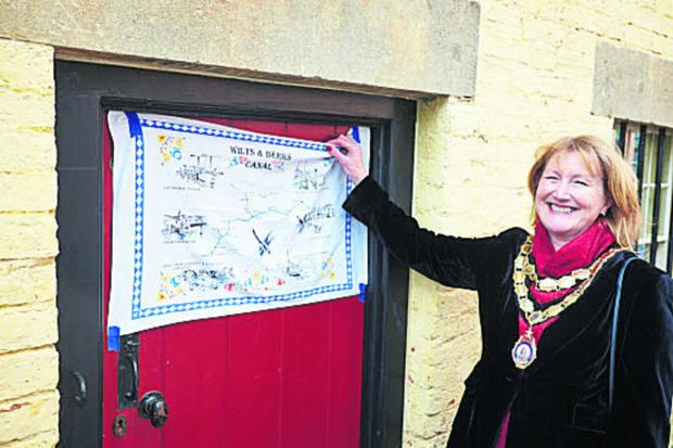 Mayor Fiona Roper at the opening of the Sack House Museum Picture: OX66818 Cliff Hide