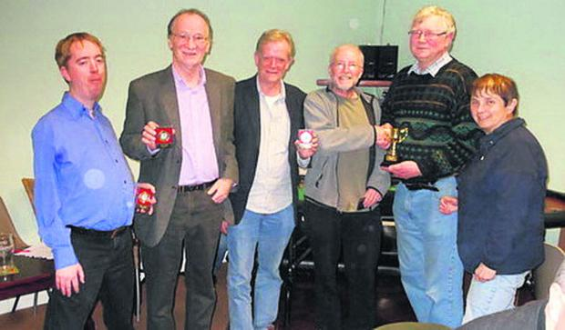Oxford Mail: Ploughman's Bunch!, recipients of the Premier Division tro
