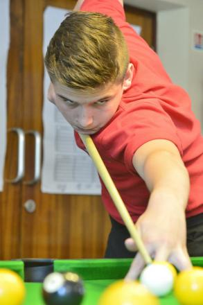 Ben Rowland is hoping to continue his climb through the pool ranks