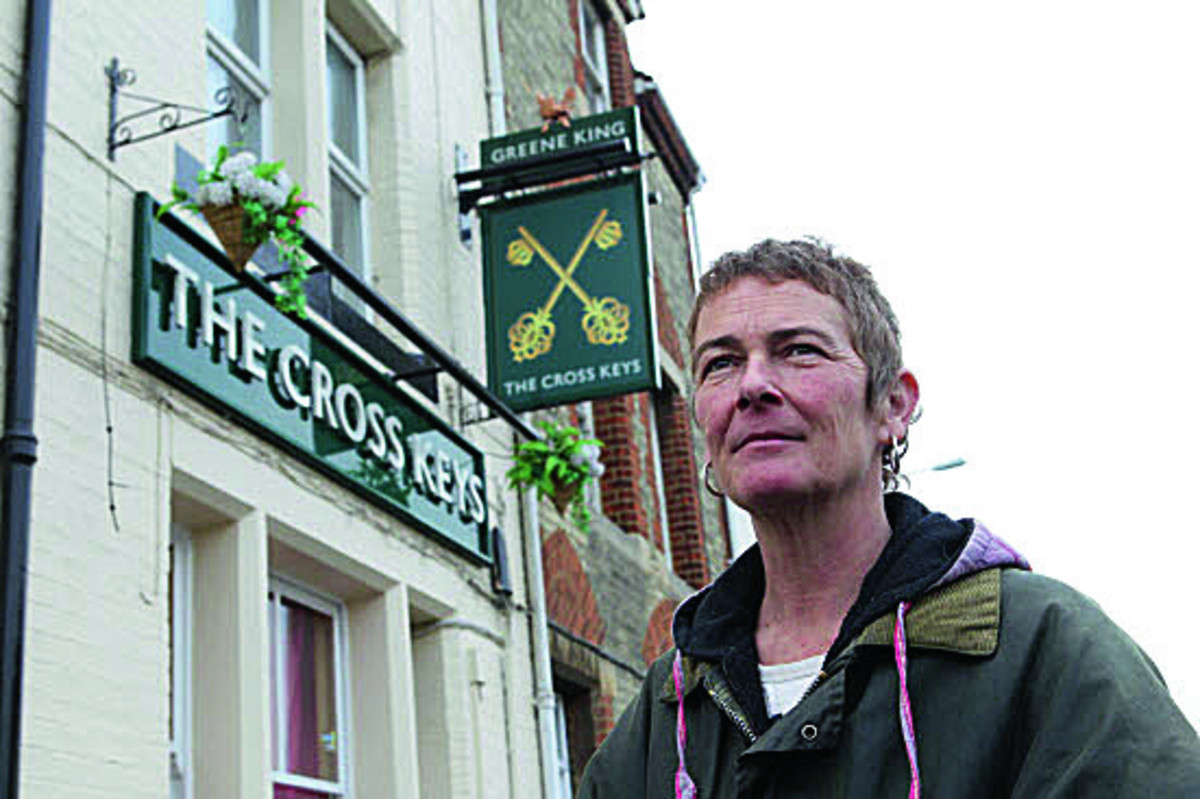 Former landlady Lisa Rowberry at The Cross Keys in Abingdon