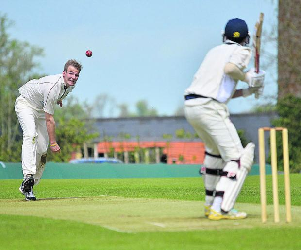 Oxford Mail: Matt Woods took a five-wicket haul for Great Tew at Chesham
