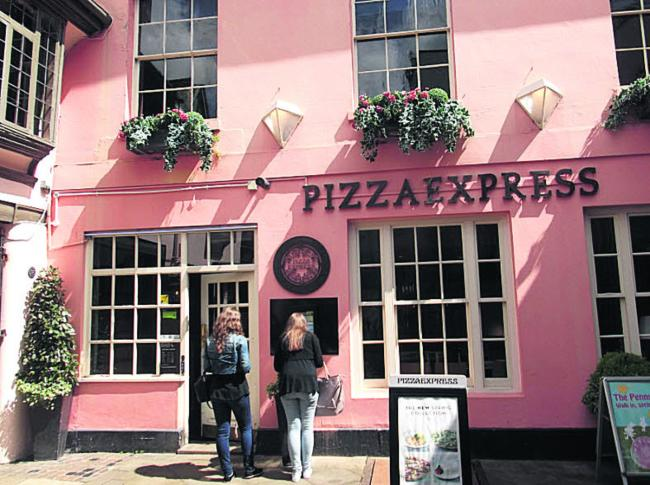 Pizza Express Oxford Oxford Mail