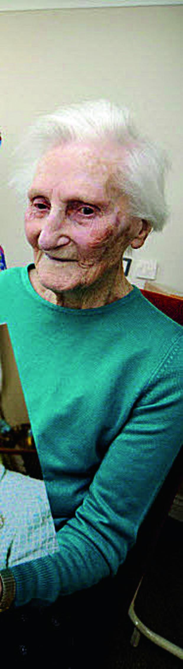 Oxford Mail: Edith Murray, who has a council-funded place in a Bicester care home.