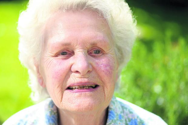 Rosemary Stone, 86, suffers from hallucinations brought on by her sight loss