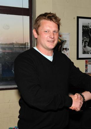 Justin Merritt, Oxford City's new general manager