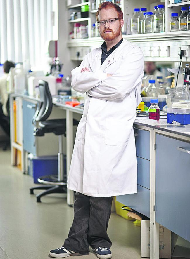 Heart research scientist Mike Dodd