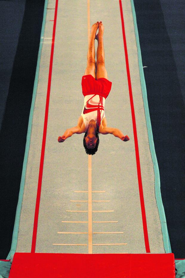 Oxford Mail: Ben Goodall's acrobatic routine won gold in Coventry