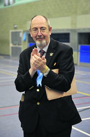 Tory leader Barry Wood