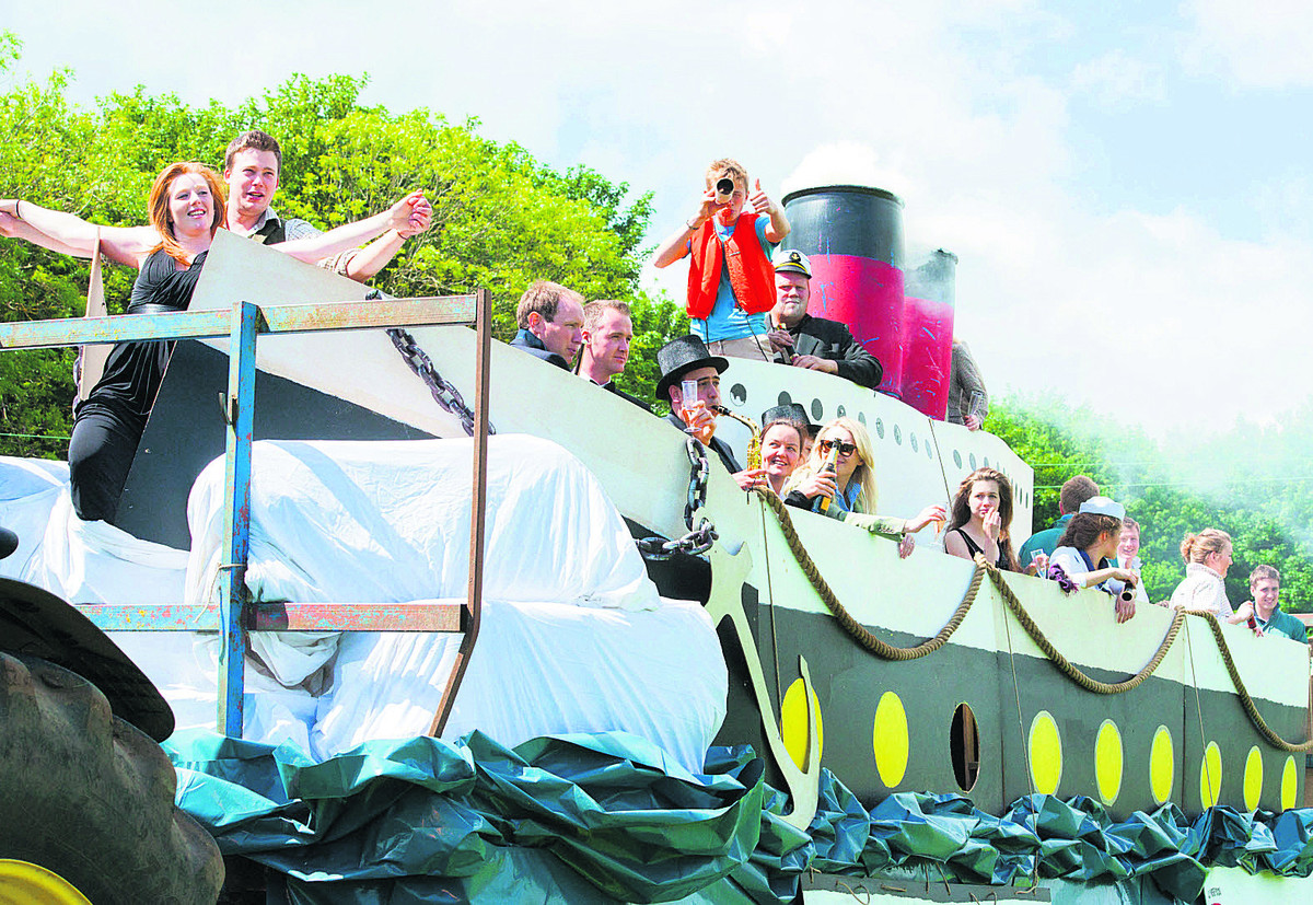 Titanic day of fun as Young Farmers get together