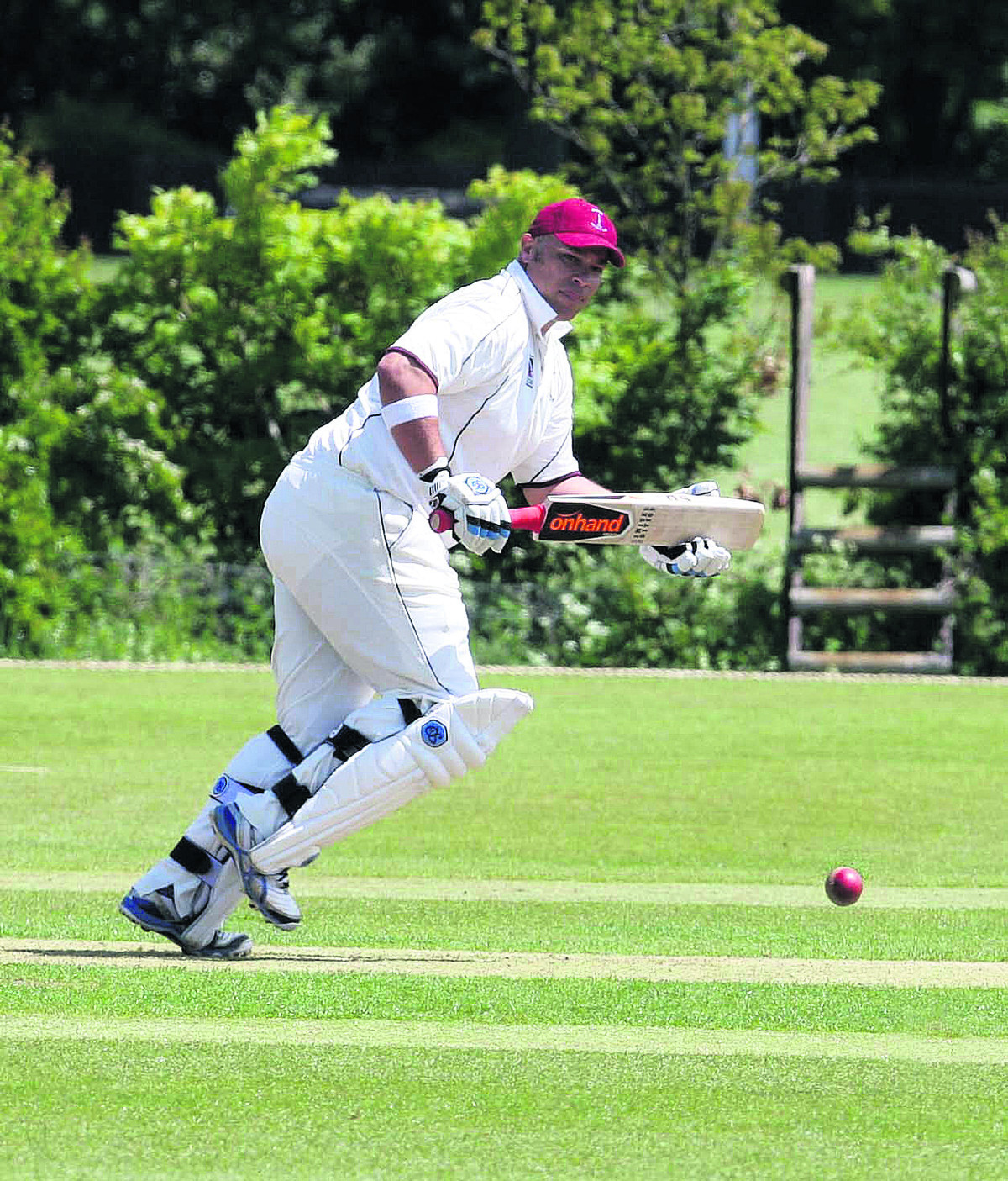 Craig Haupt top-scored for Banbury