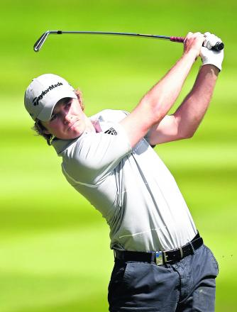 GOLF: Eddie's still tied for lead