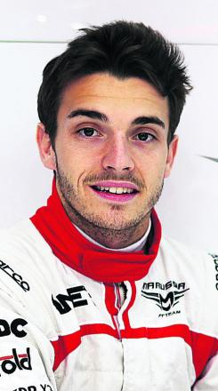 Jules Bianchi sealed Marussia's first Formula 1 points at Monaco