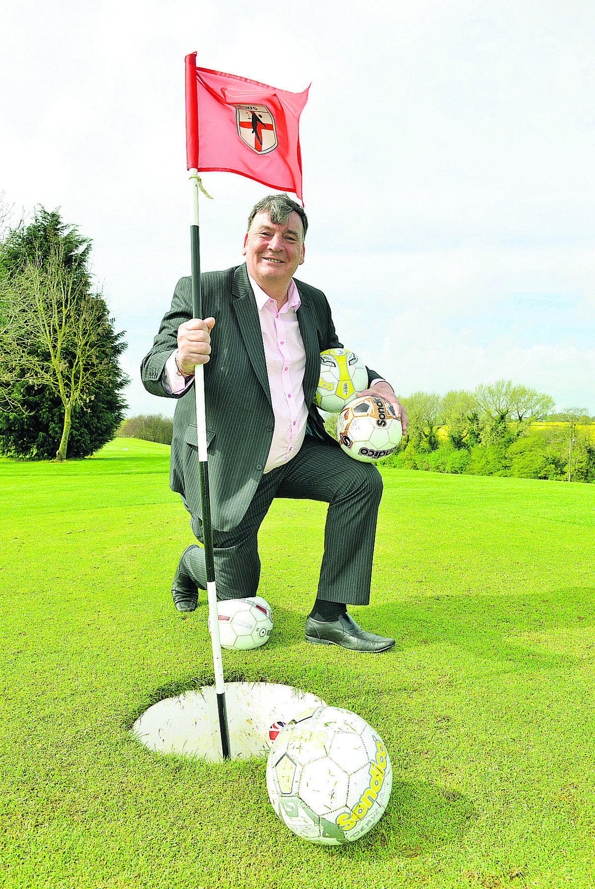 FOOTGOLF: The new craze hoping to sweep the nation