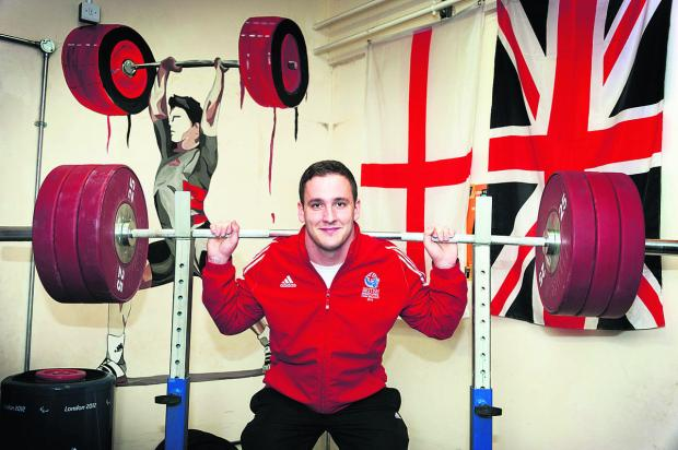 Didcot weightlifter Ben Watson is looking forward to competing for England in the Commonwealth Game