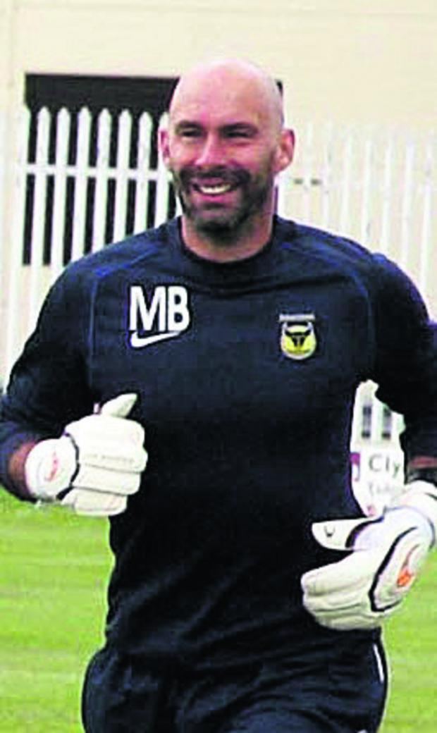 Oxford Mail: Wayne Brown is staying at Oxford United as player-coach