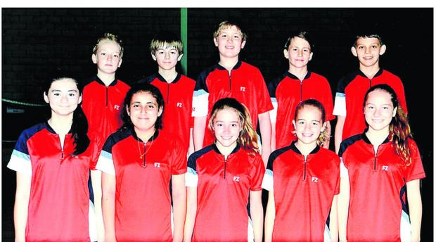 Oxford Mail: Back row (from left): Jamie Redfern, James Moreton-Smith, Ethan Rose, Dan Worth, Christian Mitchell. Front: Safia Khimji, Saffy Gujral, Hannah Craig, Maisie Marriott, Maisie Boyd