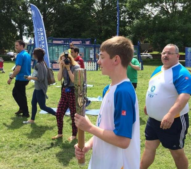 Queen's Baton relay reaches Oxford ahead of Commonwealth Games (Pic: Factory Eleven)