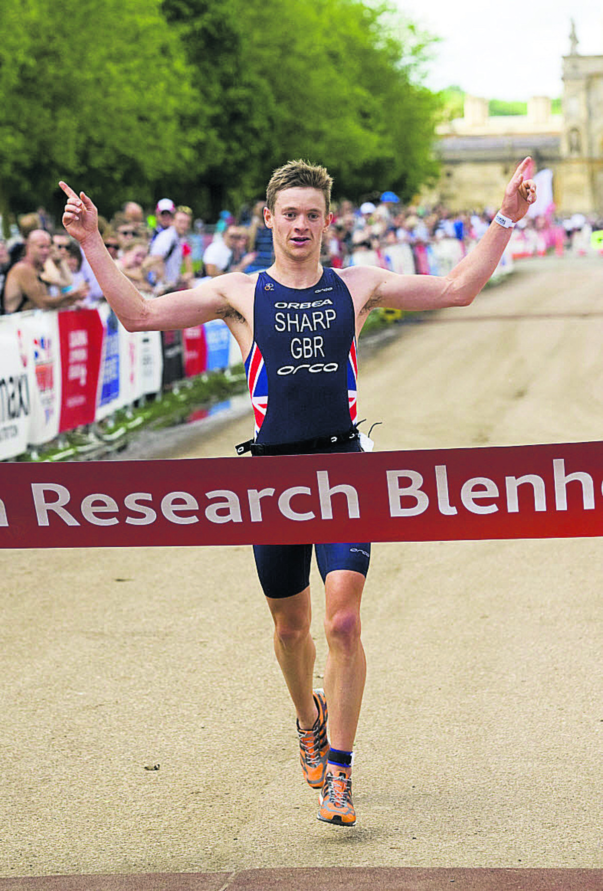 TRIATHLON: Sharp and Pallant win at Blenheim