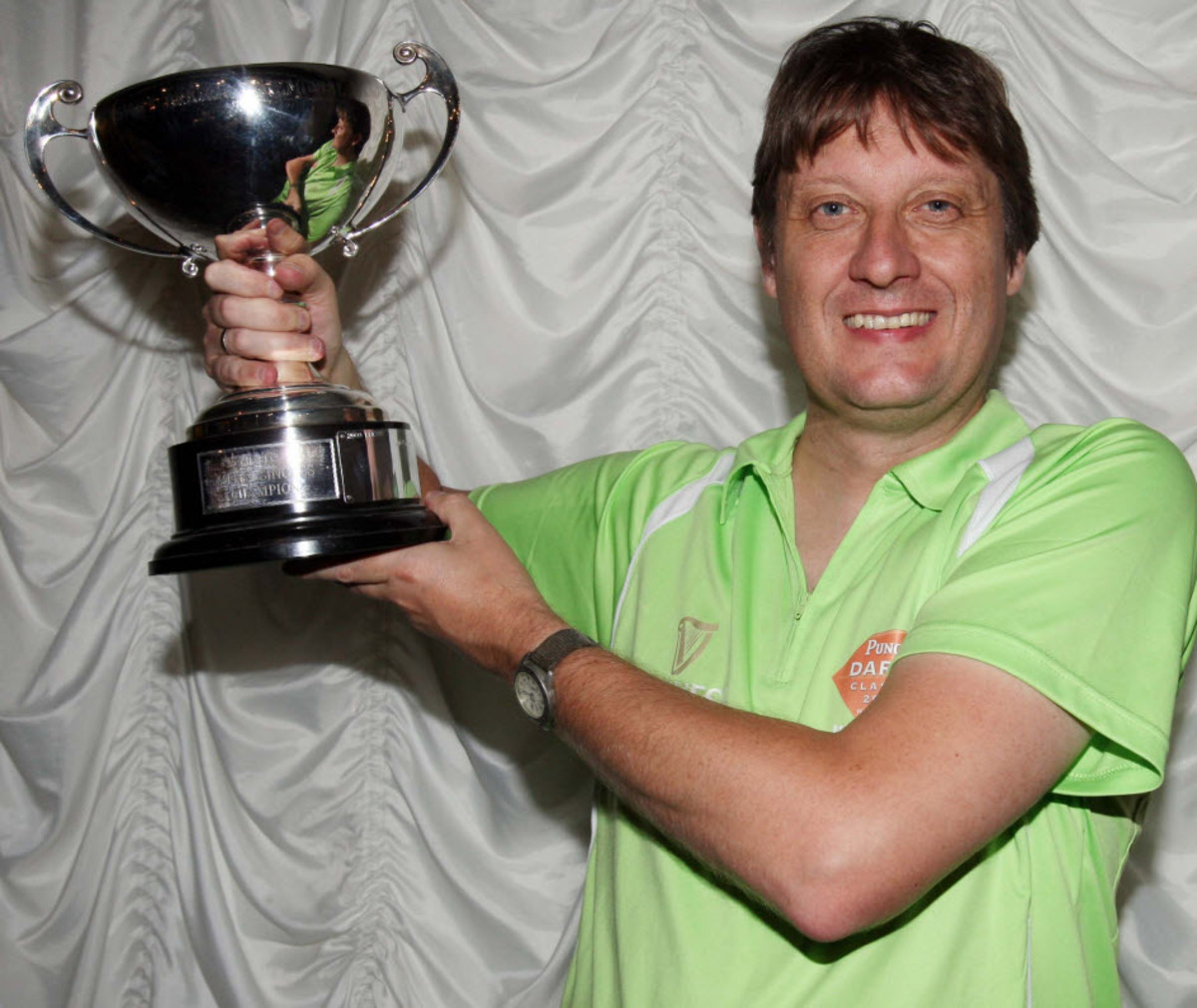 DARTS: Krabben captures singles crown No 5