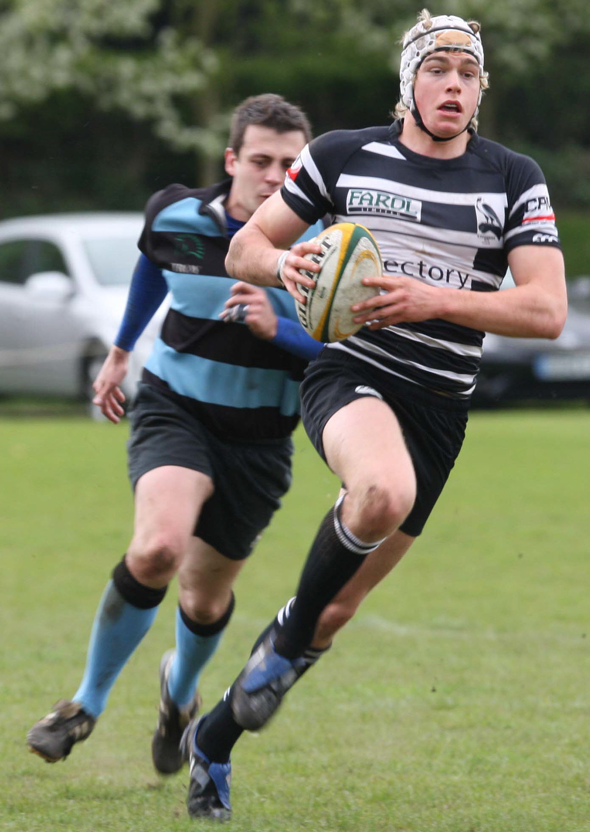 Chris Elder scored two tries for London Welsh