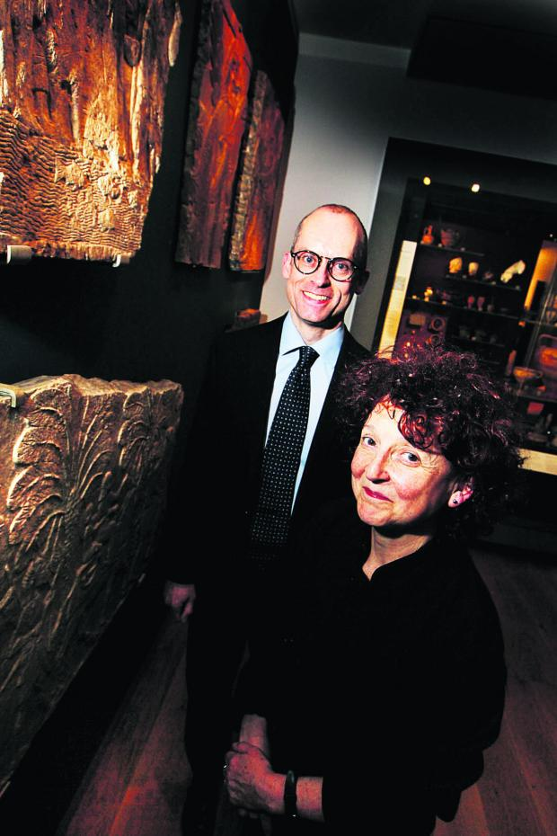 Oxford Mail: HIGHLIGHT: Dr Paul Collins and Dr Venetia Porter were among the speakers at the Ashmolean's special week of events themed around Syria