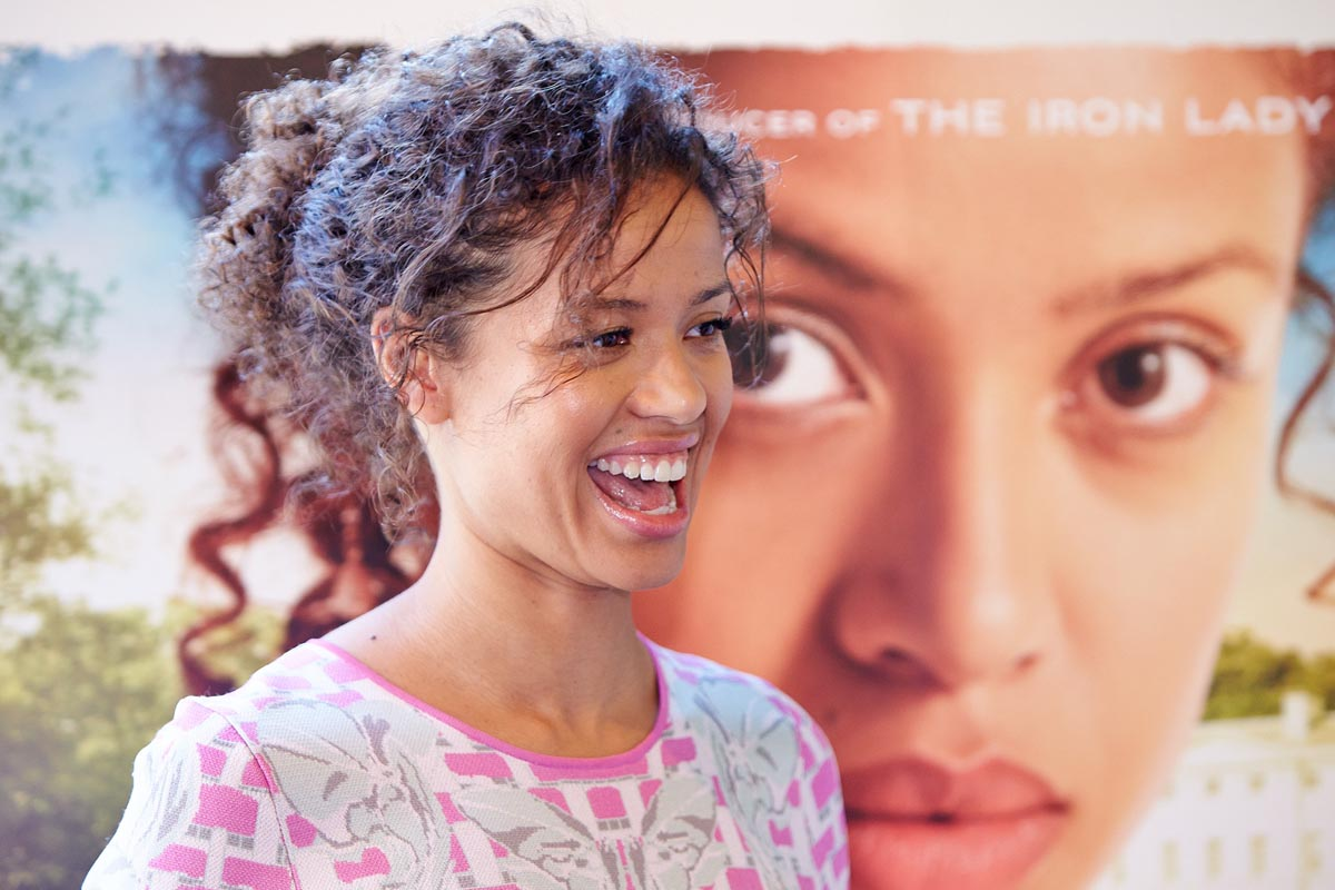Watch: Gugu Mbatha-Raw talks about filming Belle and coming home to Witney to show it off