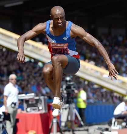 Triple jumper Nathan Douglas has been chosen for England at the Commonwealth Games in Glasgow four years after his last major championships