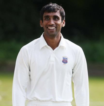 Anupam Sanklecha took 5-33 for Shipton-under-Wychwood