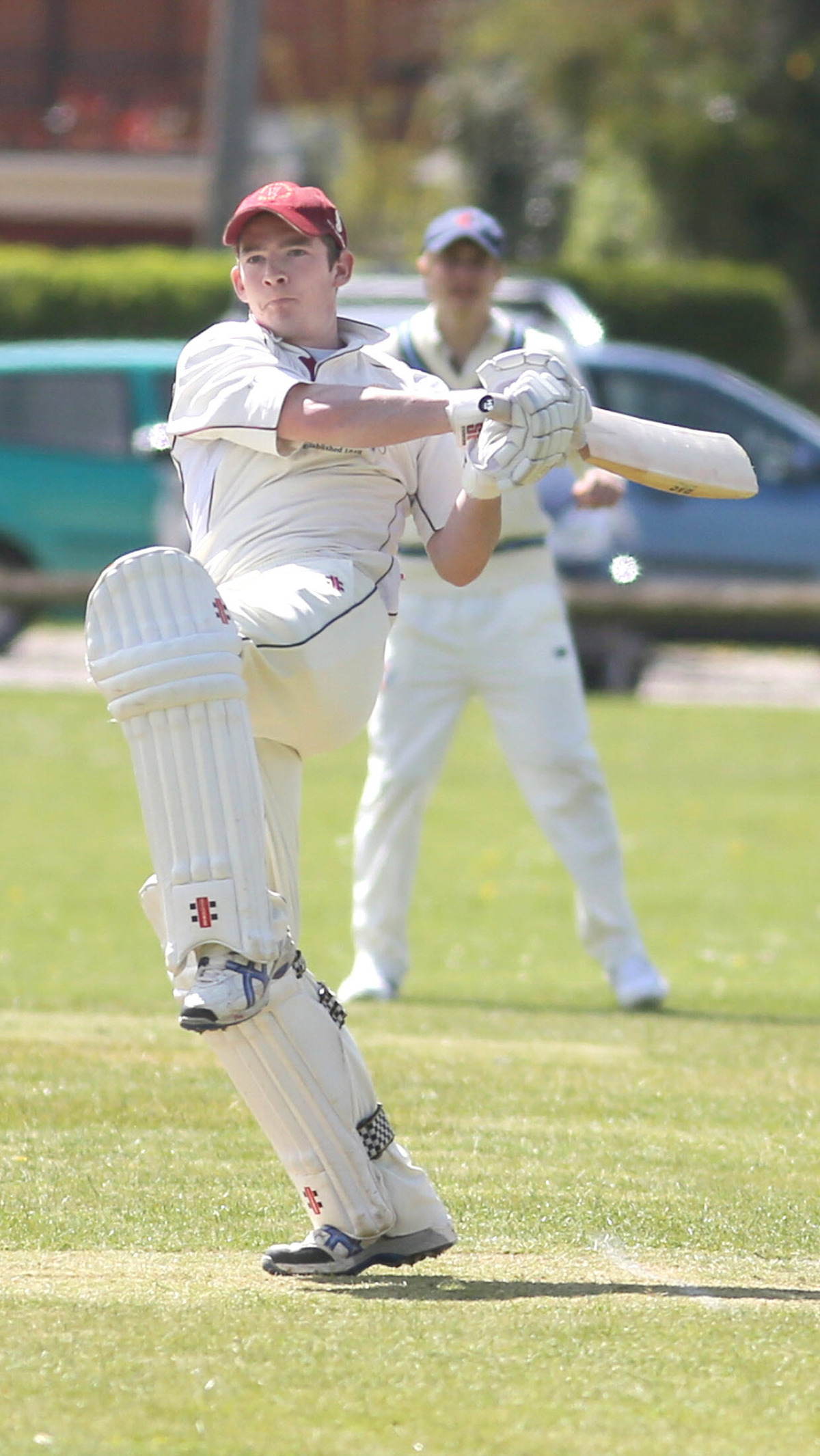 Conor Taylor blasted 163 in Shrivenham's easy success over Hook Norton