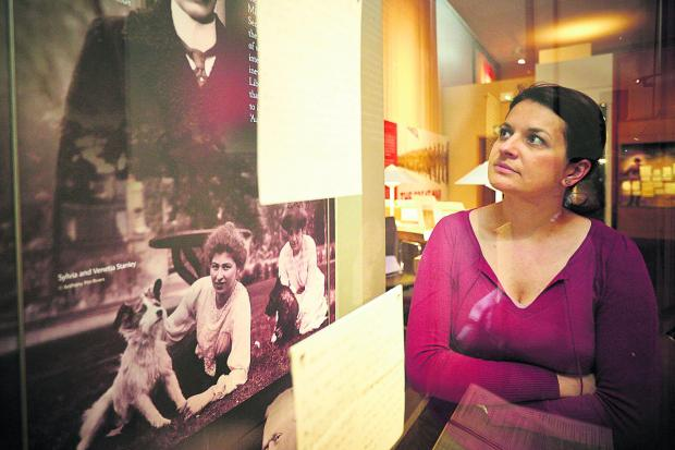 Oxford Mail: Oana Romocea looks at some of the exhibits