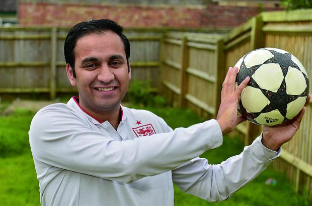 Oxford Mail: Organiser Shajaat Hussain of the Oxford Ambition Project which is running the tournament