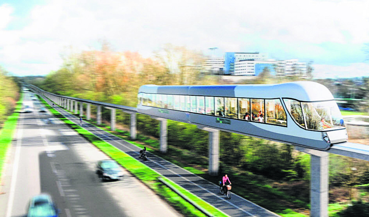 Monorail dream included in leader's vision of the futur