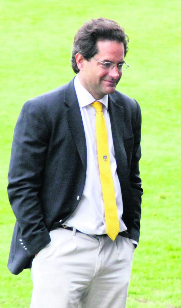 Oxford Mail: Charlie Methven is leading a group of businessmen who want to take charge of Oxford United
