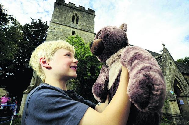 Oxford Mail: Today's the day the teddy bears... ride the zip-wire