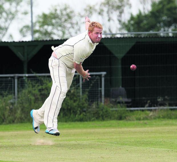 Oxford Mail: Pat Foster took seven wickets Horspath pipped Amersham