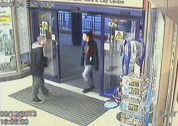 Oxford Mail: Update: CCTV released showing Jayden Parkinson meeting Ben Blakeley at Oxford train station