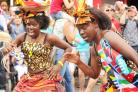 Colourful: Dancers at last year's Cowley Road Carnival get in full swing