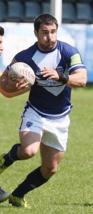 Anthony Hoggins scored Oxford's first try