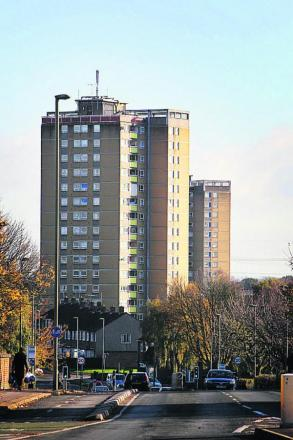 Windrush Tower in Blackbird Leys