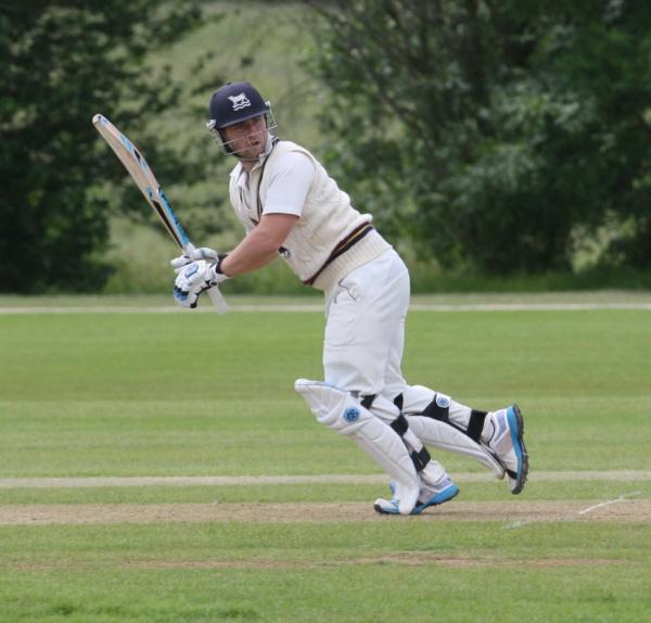 Jonny Cater hammered an unbeaten 117 to help put Oxfordshire in the driving seat against Shropshire