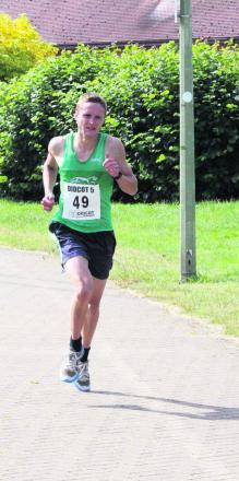 Jonathan Cornish heads for victory in Didcot 5 race Picture: Barry Cornelius