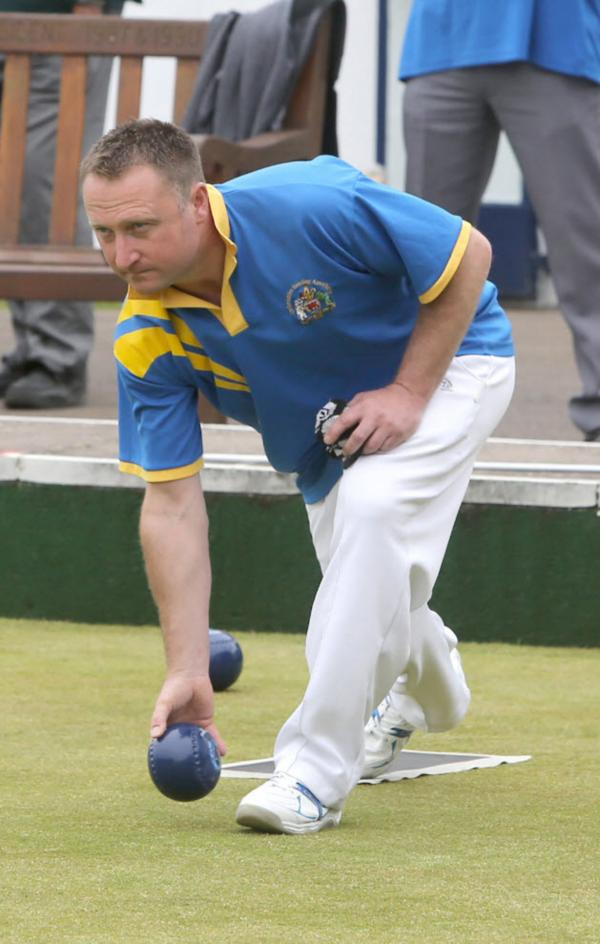 Mark Charlett skipped Oxfordshire's highest-winning rink, which ensured victory over Kent