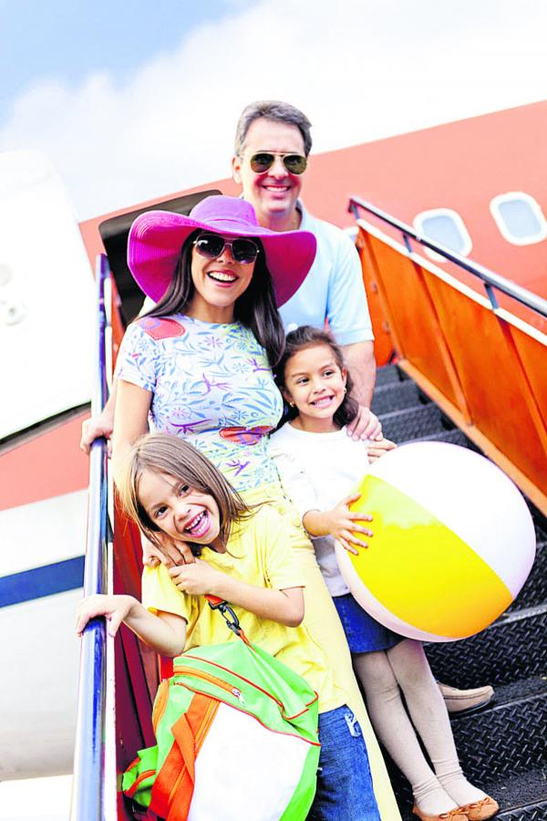 Kids on flights can be plane sailing