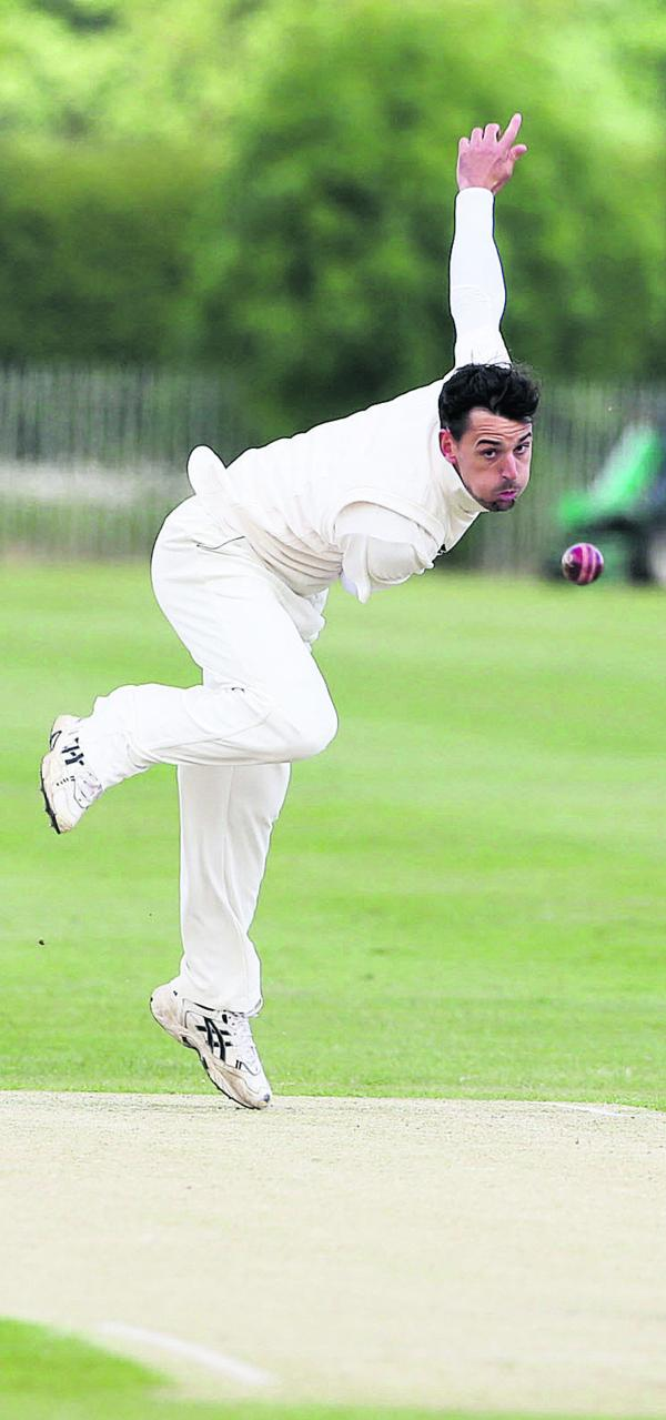 Stuart Hole's short cricket season is over as he reverts to football with Southern League side North Leigh