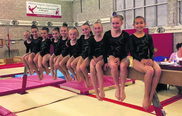 Oxford Mail: GYMNASTICS: Abingdon's silver stars turn in perfect display
