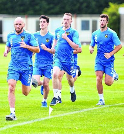Oxford United's players are out to impress