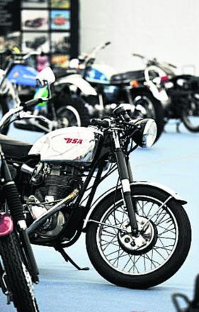 Motorbikes go under the hammer