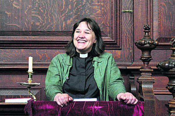 Rev Dr Emma Percy, Chaplain and Welfare Dean at Trinity Colle