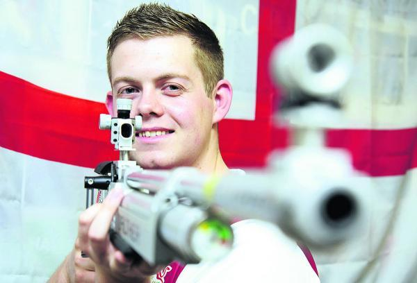Dan Rivers is hoping to produce a good display at the Commonwealth Games        Picture: David Fleming