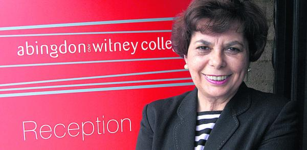 College Prinicpal Teresa Kelly is looking forward to working with local employers